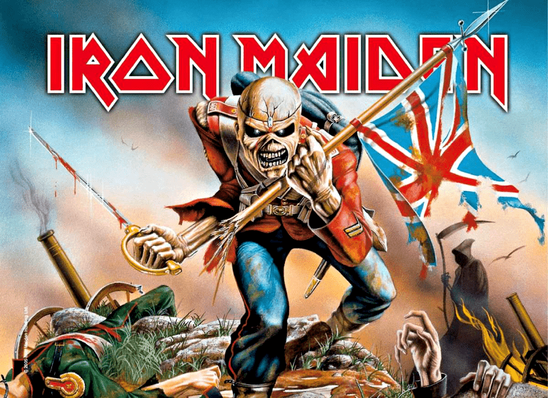 Iron-Maiden-The=Trooper-T-Shirts-Shirt